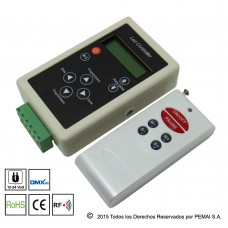 Controlador DMX con Control RF para tira  MAGIC LED