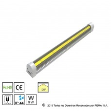 Tubo COB Integrado T10, 9W, 60CM, Blanco Neutro